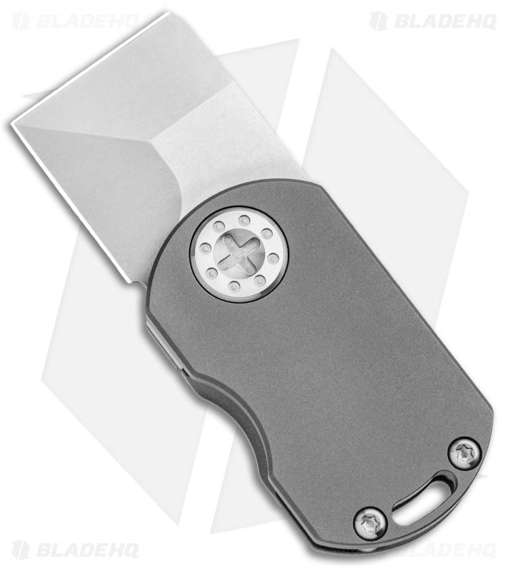Curtiss Knives ODT Frame Lock Knife Stonewash Titanium Plain (1