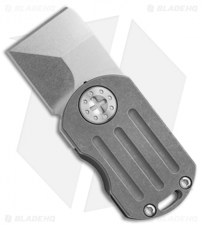 "Curtiss Knives ODT Frame Lock Knife Titanium (1"" Stonewash)"