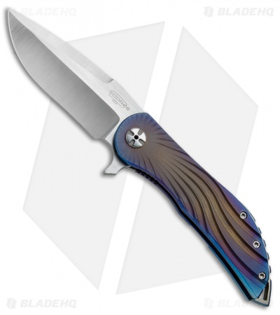 "Darrel Ralph DDR Custom AOD Impact Knife Spectrum Titanium (4"" Satin)"