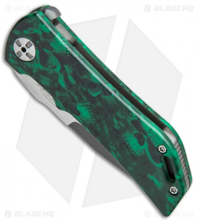 "Darrel Ralph Designs DDR Dominator Lvl 1 Bowie Green Skull (3.7"" Acid SW) 1 of 5"