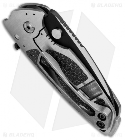 "DireWare Custom H-90 Flipper Knife Full Ti/LSCF (3"" Two-Tone)"