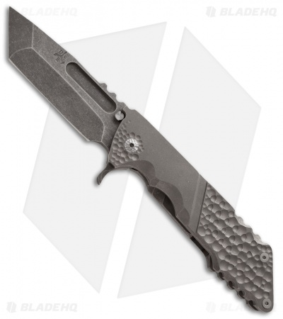 "DSK Tactical Knives Kickstand Flipper Knife (4.25"" Acid Wash)"