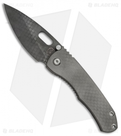 "DSK Tactical DBV2 Frame Lock Knife DB Ti (3.6"" Black Acid Wash) #45"