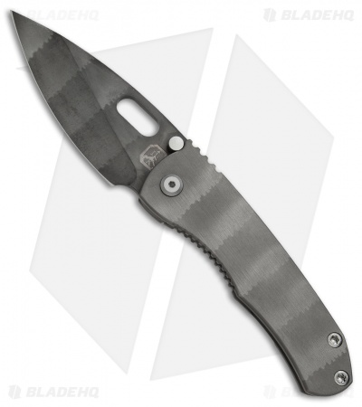 "DSK Tactical DBV2 Frame Lock Knife Mountain Shadow Ti (3.6"" Black Acid Wash) #48"