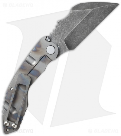 "DSK Tactical VX-C Knife Milled Blast/Flame (4.25"" Acid Stonewash)"
