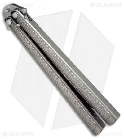 "Eldon Talley Custom Talisong Flipper Balisong Knife (4.25"" Weehawk Polished)"