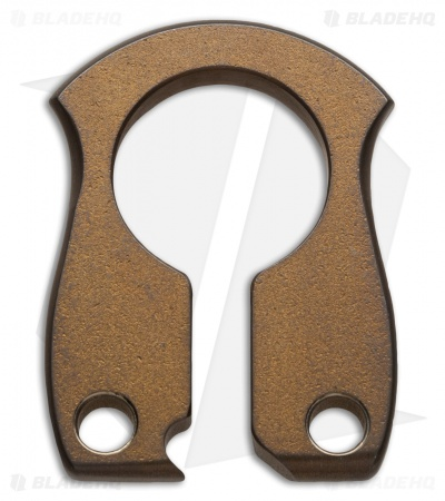 John Gray Keyper Bottle Opener Keychain - Brown Titanium