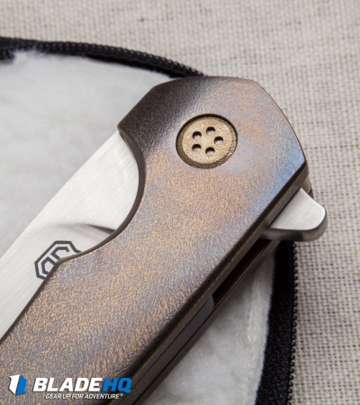 "John Gray Custom Intercept Flipper Knife Full Ti (3.75"" Satin)"