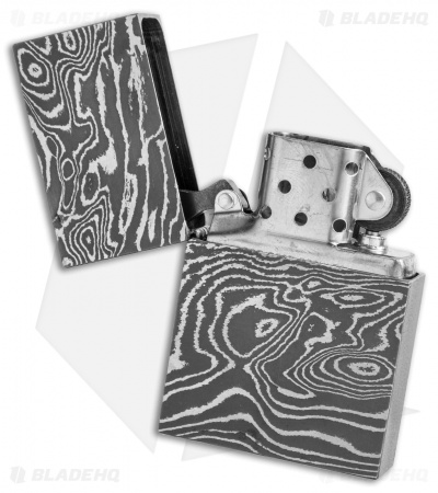 Jurgen Schanz Custom Damascus Steel Lighter