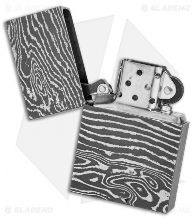 Jurgen Schanz Custom Damascus Steel Lighter Germany