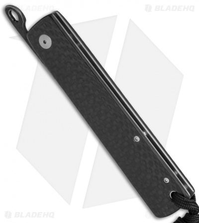 "Kansei Matsuno Custom F011 Large Friction Folder Knife Carbon Fiber (3.3"" Satin)"