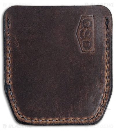 GSD Burnley Cypop Cozie - Coffee Leather w/ Off-White Stitching
