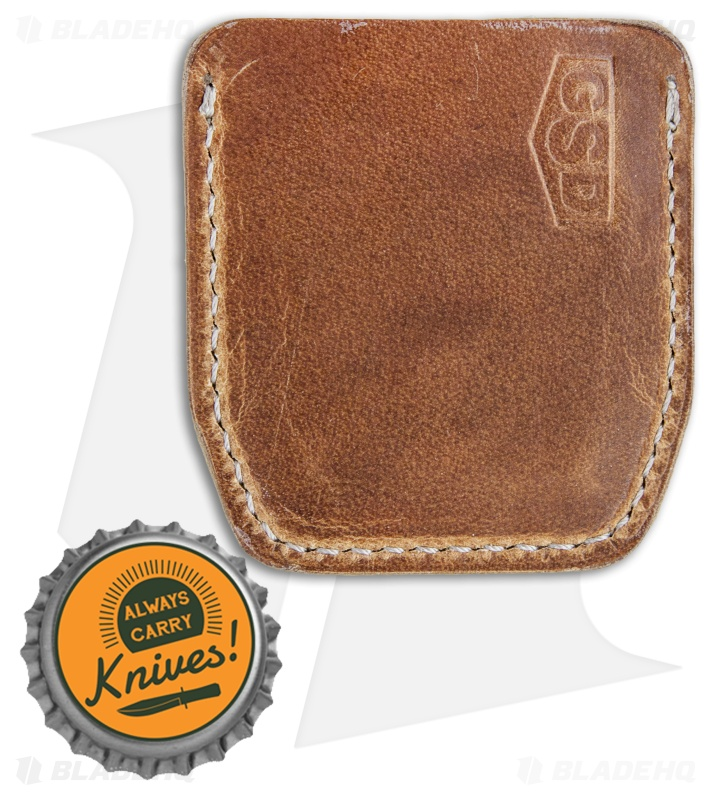 cypop 40 This cypop cozie from greg stevens design is crafted from tan leather with off-white antique threading greg sources world class leathers from top-tier us tanneries that pair beautifully with his clean design and attention to detail made from horween leather, each cozie will form a unique patina with age made in the usa.
