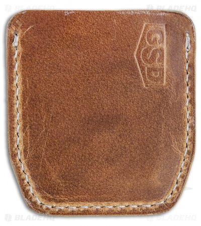 GSD Burnley Cypop Cozie - Tan Leather w/ Off-White Stitching