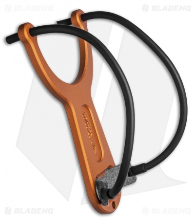 Lucas Burnley Slingpop Slingshot - Copper Anodized - BHQ Edition