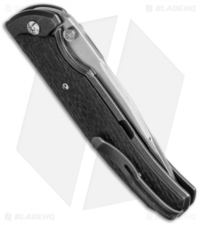 "Diskin Fire Custom D/A Dual-Action Automatic Knife CF (3.625"" Compound Polished)"