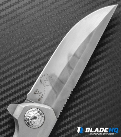 "McNees + Liong Mah Design Warrior One Titanium Flipper (3.875"" Hamon)"