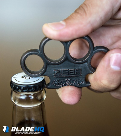 Michael Zieba Brooklyn Bottle Opener - Titanium