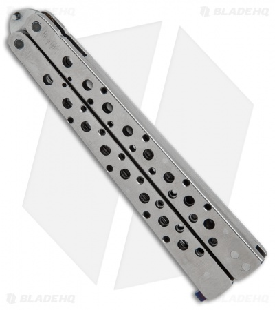 "Nathan Dewey Custom Deviant Balisong Butterfly Knife (4.25"" High Satin)"