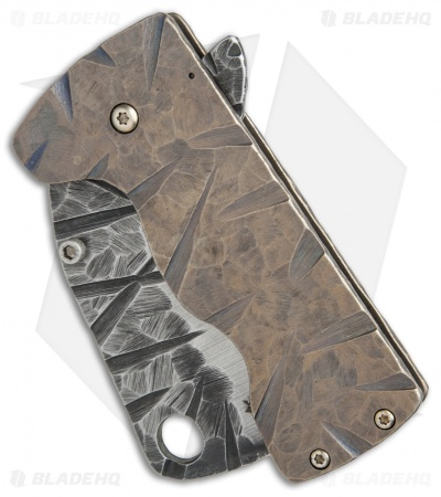 "RichMade Knives Zombie Killer Frame Lock Bronze Ti (3"" A-2) RMK"