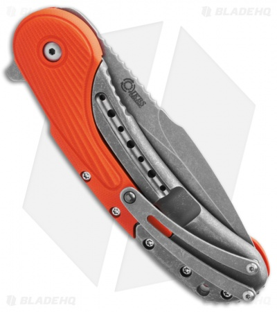 "Todd Begg Field Grade Bodega Flipper Knife Orange G10 (3.75"" SW HH) Ceramic"