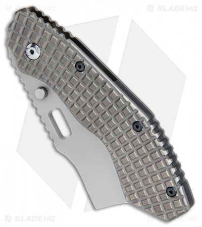 "Trouble Blades Custom Debt Collector L Knife Frag Ti #004 (3.75"" CPM-4V)"