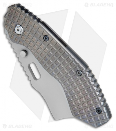 "Trouble Blades Custom Debt Collector L Knife Frag Ti #024 (3.75"" CruWear)"