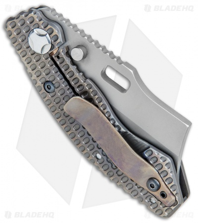 "Trouble Blades Custom Debt Collector S Knife 911 Ti (3"" CPM-4V)"