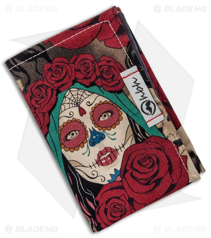 "Hanks by Hank 10"" x 10"" Handkerchief - Tats & Roses"