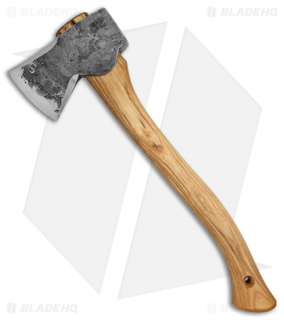"Hoffman Blacksmithing 20"" Wasatch Axe w/ Ground Bevels - Natural Finish"