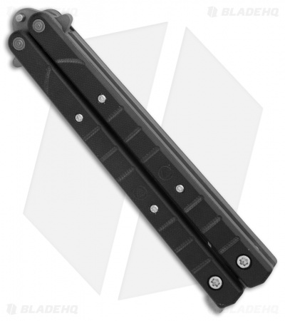 "Combative Edge Prototype L1 Legacy Balisong Butterfly Knife G-10 (4.25"" BB)"