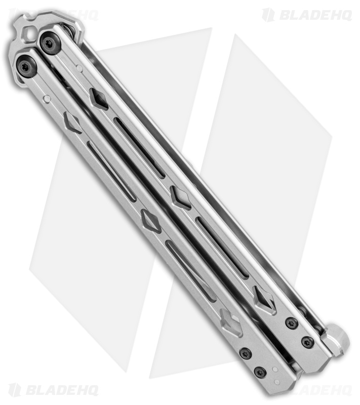 "Kershaw Lucha Balisong Butterfly Knife Stainless Steel (4.5"" Stonewash) 5150"