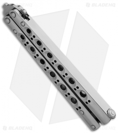 "Benchmade 41SS Balisong Knife Stainless Steel Butterfly Knife (4.2"" Plain) D2"