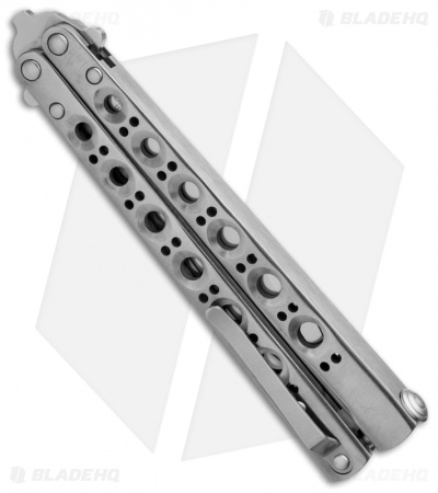 "Benchmade 41MC Balisong Knife Titanium Butterfly Knife (4.2"" Plain) D2"