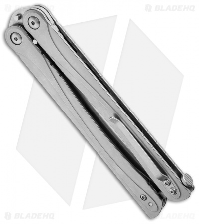 "Brous Blades Balisong B3 Butterfly Knife SS (4.25"" Satin)"