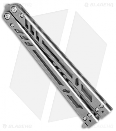 "BRS  Barebones Trainer Balisong Butterfly Knife (4.375"" Dull Blade)"