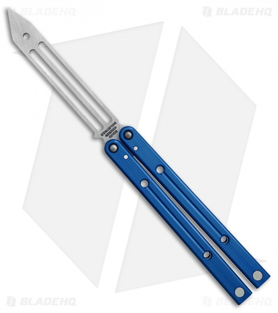 "Squid Industries Squidtrainer V2 Butterfly Trainer Blue Al (4.5"" Stonewashed)"