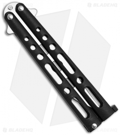 "Benchmark Black Butterfly Trainer Knife (4.13"" Dull)"