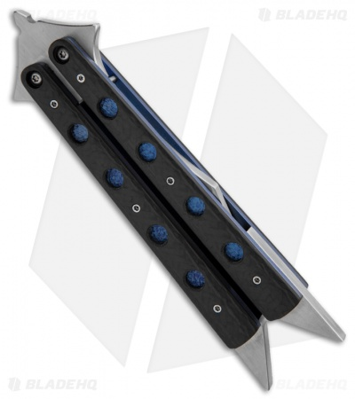 Les Voorhies Havoc Bail Balisong Butterfly Knife #4