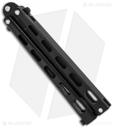 "Remington Tanto Butterfly Balisong Knife Black (4"" Black) R39"
