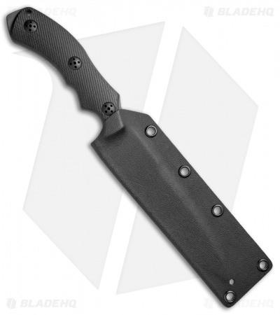 "Bastinelli Raptor GT6 Mid-Tech Black Fixed Blade Knife (5.5"" Black)"