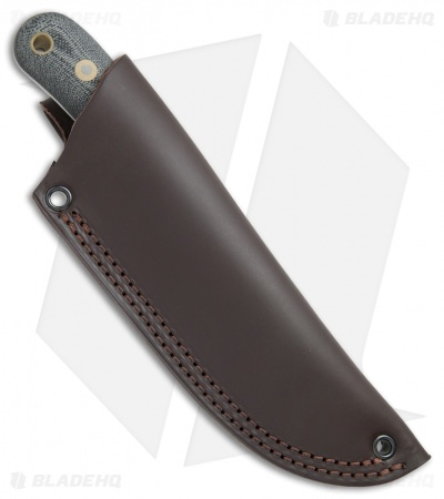 "Battle Horse Knives Pit Bull Fixed Blade Black Micarta (3.5"" Scandi) BHK"
