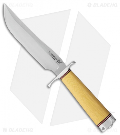 "BlackJack Classic Model 3 Fixed Blade Knife Ivory Micarta (7"" A-2 Satin)"
