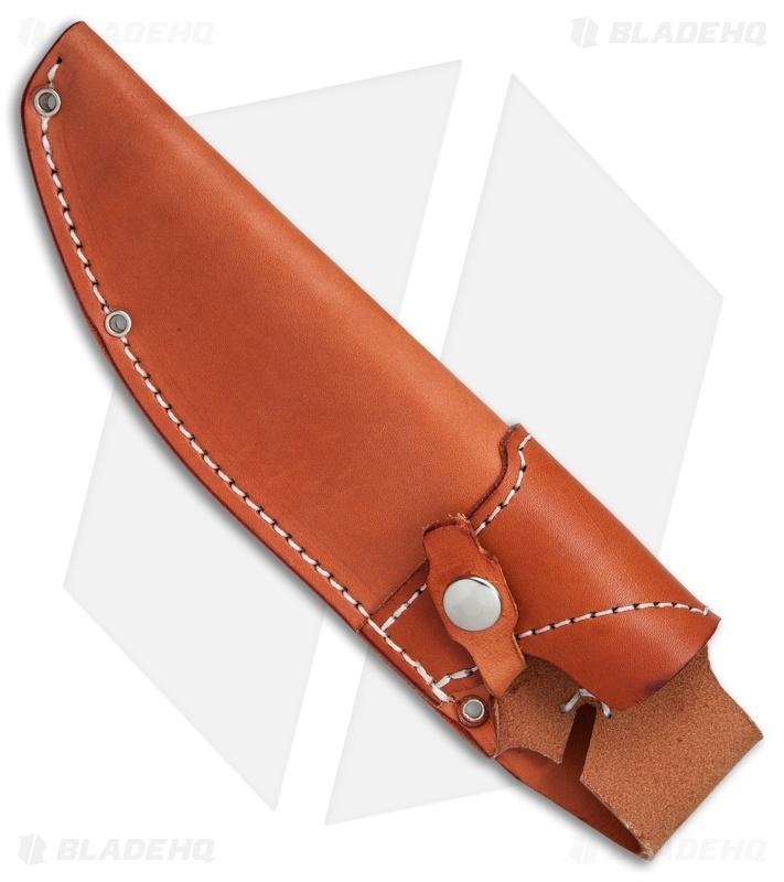 dark timber knives og grizzly left handed leather sheath blade hq. Black Bedroom Furniture Sets. Home Design Ideas