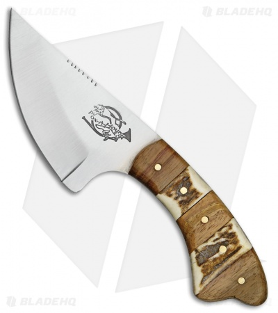 "Fox-N-Hound Skinner Fixed Blade Knife (3.125"" Satin)"