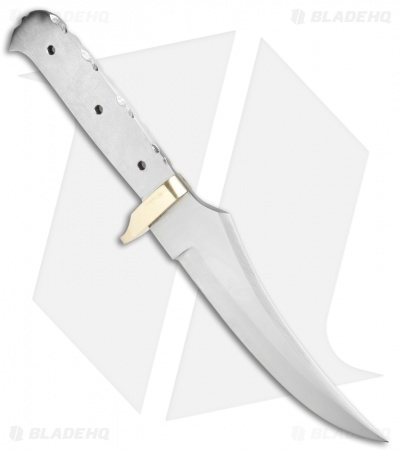"Tallen Clip Point Fixed Blade Blank (5.3"" Satin D2)"