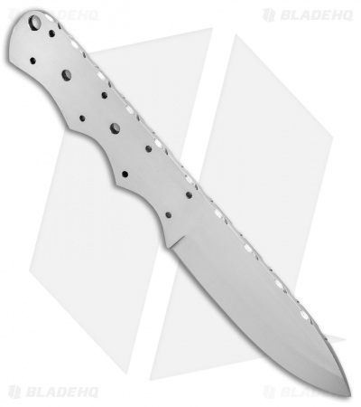 "Tallen Drop Point Fixed Blade Blank (4.25"" Satin)"