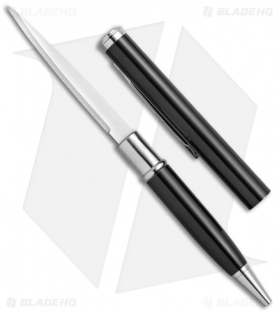 "Pen Knives Modern Letter Opener Pen Knife Black (2.3"" Satin)"