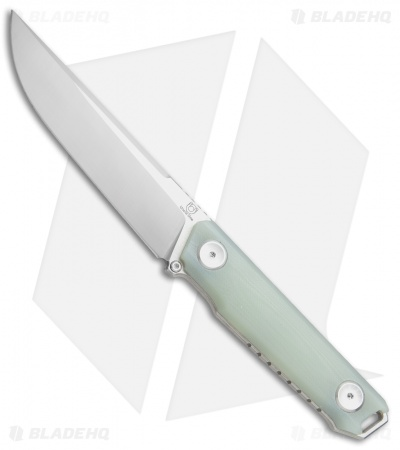 "Stedemon Knife Co. Uncle One UB02 Fixed Blade Knife Jade G-10 (5"" Satin)"