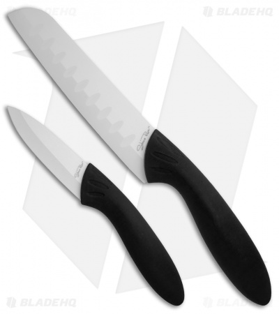 Stone River Gear Two Piece White Ceramic Knife Set - SRG23CKW